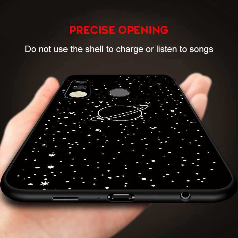 TPU Patterned Phone Case For Huawei P Smart 2019 P30 P20 Mate 20 Pro Lite Soft Silicone Cover For Honor 10i 8X 8C 8S Space Cases