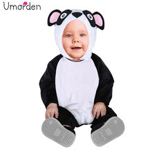 Umorden Carnival Party Halloween Toddler Infant Baby Animal Panda Costume Cosplay for Girl Boy Fancy Dress Jumpsuit