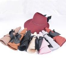 Солнцезащитные шляпы для женщин летняя соломенная шляпа с козырьком