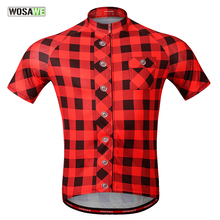 ФОТО wosawe cycling jersey men maillot ciclismo quick dry breathable mtb mountain bike jersey summer racing tops