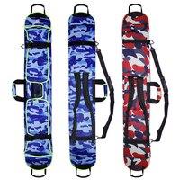 NEW Skiing Ski Portable Carry Shoulder Backpack Hand Bag Snowboard Single Board Waterproof Oxford Case Cover 135cm 145cm 155cm