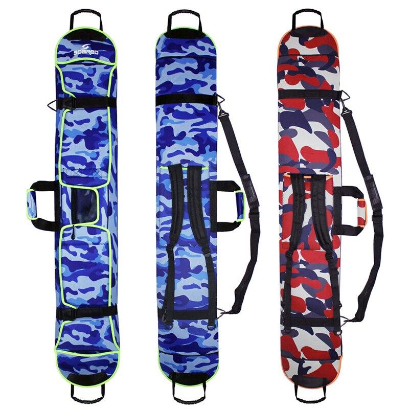 Nouveau Ski Ski Portable porter épaule sac à dos sac à main Snowboard planche unique imperméable Oxford housse 135 cm 145 cm 155 cm