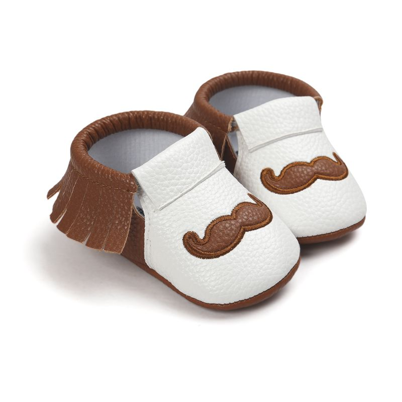 Tassels PU Leather Baby Shoes Soft Infants Crib Shoes Baby Moccasins Newborn Shoes Sneakers First Walker
