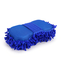 все цены на Vehicle wiping tool Car Cleaning Soft Towel Anthozoan Washer  Car Wash Glove Ultrafine Fiber Chenille Microfiber онлайн