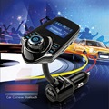 Handsfree FM Transmitter Car Kit MP3 Bluetooth Music Player LCD Display USB TF Remoto For iPhone Samsung Smartphone