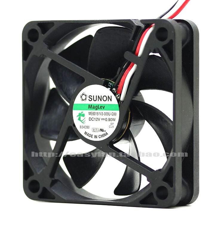 NEW SUNON ME60151V3 000U G99 12V 0.9W 6015 6CM cooling fan|Fans & Cooling Accessories| |  - title=