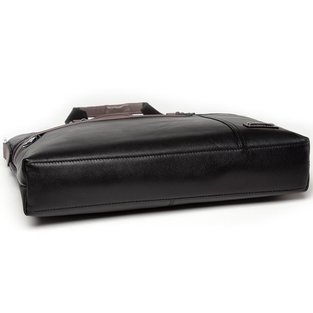 Aus Danjue Neue Männlichen Vintage Männer Leder green Echte Handtasche Echtem Black Tasche Laptop Aktentasche Mode Business 11TwaEq