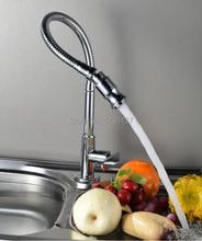 Новый материал латунь однорычажный один холодный 360 градусов вращающийся раковина кран кухонной мойки