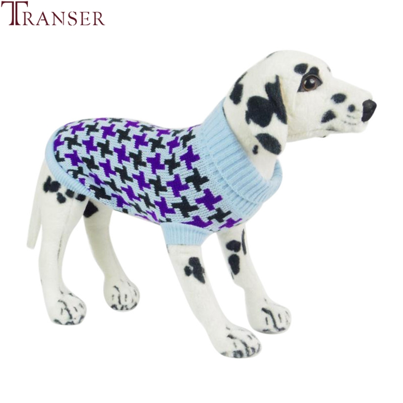 Transer Pet Dog Clothes Four Leaf Windmill Dog Knitted Turtleneck Sweater Winter Warm Doggie Outwear 71108 ...