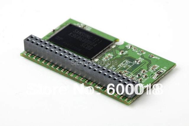 44PIN  PATA IDE DOM Disk On Module male Horizontal+Socket MLC 2-Channels DOM 4GB 8GB 16GB 32GB For CNC Industrial equipment