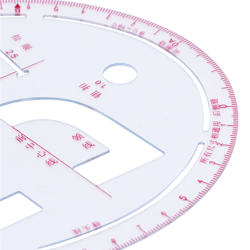 2019 New Sleeve Curve Ruler Measure Plastic For Sewing Dressmaking Tailor Drawing Tool