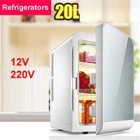 F L20SA Portable Freezer 20 L Mini Fridge Refrigerator Car Home A Dual Use Compact Car