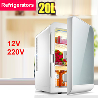 F L20SA Portable Freezer 20 L Mini Fridge Refrigerator Car Home A Dual Use Compact Car