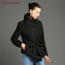 ChuSauBeauty women's coat Winter Jackets And Coats Sale 2017 Jacket Women Collar With Parkas For Winter Warm Outerwear Coats