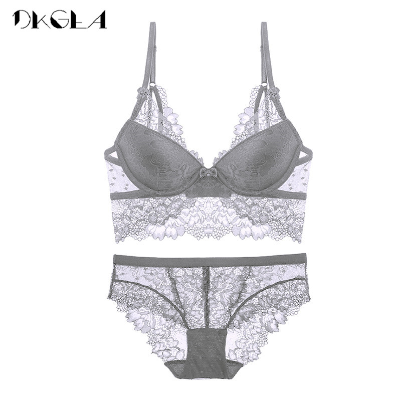 NEU BH Push-Up BHs Set Dessous Bügel-BH Slip Wäsche Underwear Damen Lingerie