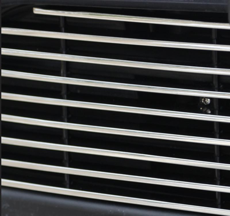 1pc for dongfeng DFSK 580 Below front grille Decorative strip Aluminium alloy in Chromium Styling from Automobiles Motorcycles