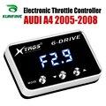 Автомобильный электронный контроллер дроссельной заслонки гоночный ускоритель мощный усилитель для AUDI A4 2005-2008 Тюнинг Запчасти Аксессуары