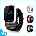 Кен Xin Да W1 Двойной Sim-карты Smart Watch Reloj Inteligente сотовый телефон с Слайд Клавиатуры Bluetooth Гарнитуры TF Карта