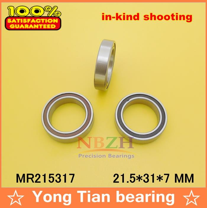 MR215317-2RS MAX , MR21531-2RS 21.5*31*7 mm ABEC-3 Full complement ball bearing(Max bearing) for bicycle suspension frame piont bicycle suspension pivot point bearing 6900 2rs max 10 22 6 mm full complement