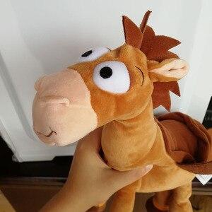 Image 4 - 35CM 55CM Bullseye Plush Toy The Horse for Children Kids Gift