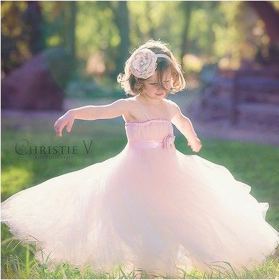 Lovely Girls Pink Puffy Tutu Dress Kids Handmade Tulle Princess Wedding Flower Dress with Satin Bow Waist Children Party Tutus lovely pink puffy tulle ball gowns with flowers beautiful wedding birthday prom evening dress with train for little girls
