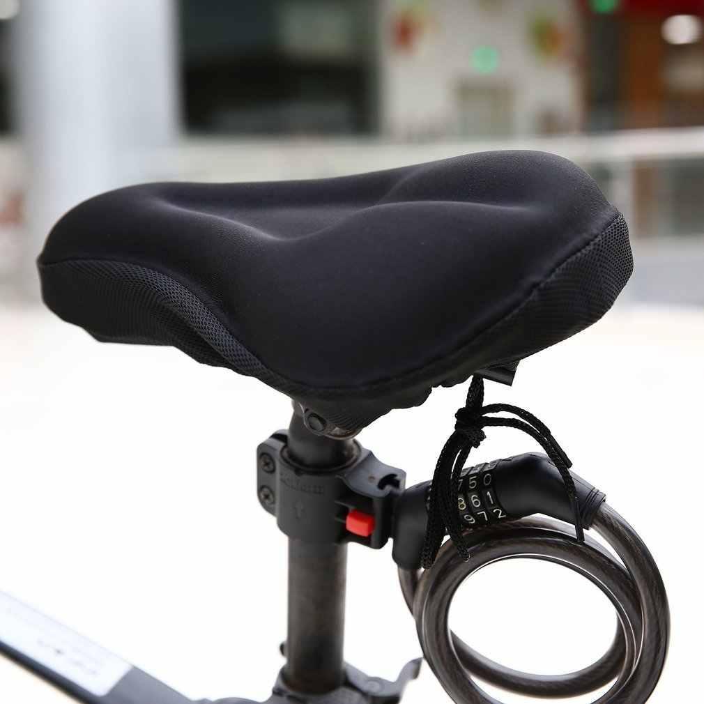 Universale 3D Spugna Gel Pad Morbido di Spessore Copertura Della Sella Della Bici Della Bicicletta Ciclismo Ammortizzatore di Sede Della Bici Equitazione Seduta Protecter