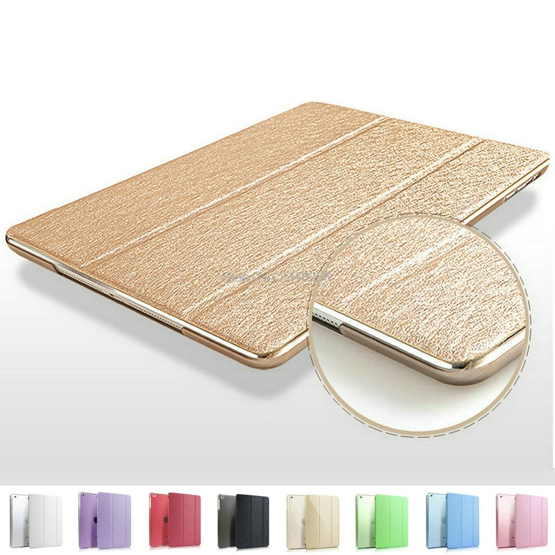 Trifold Magnetic Smart Cover For iPad 2 3 4 Premium Quality Folding Design Ultra-thin PU Leather Case For iPad3 Auto On/Off soft silicone tpu translucent back cover for ipad mini 4 mini4 trifold stand smart auto on off premium pu leather slim fit case