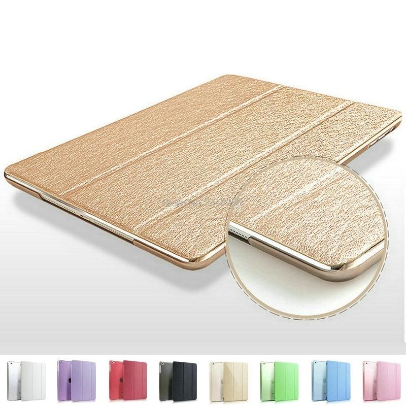 все цены на Trifold Magnetic Smart Cover For iPad 2 3 4 Premium Quality Folding Design Ultra-thin PU Leather Case For iPad3 Auto On/Off онлайн