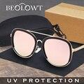 BEOLOWT Marca Individualidad Moda de Aleación de gafas de Sol de Las Mujeres de Conducción Gafas de Sol para Las Mujeres BL302
