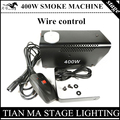 Wire control 400W smoke machine, fog machine professional stage lighting DJ equipment