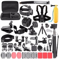 Camera Accessories Set With Handheld Monopod Mount Strap For Go Pro Hero 5 4 3 Kit