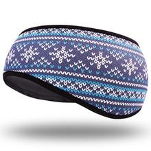 Fashion Hip-hop Unisex Headbands New Winter Warmer Ear Fleece Headband Men Outdoor Cycling Hairband Ski Windproof Hair Band Cap