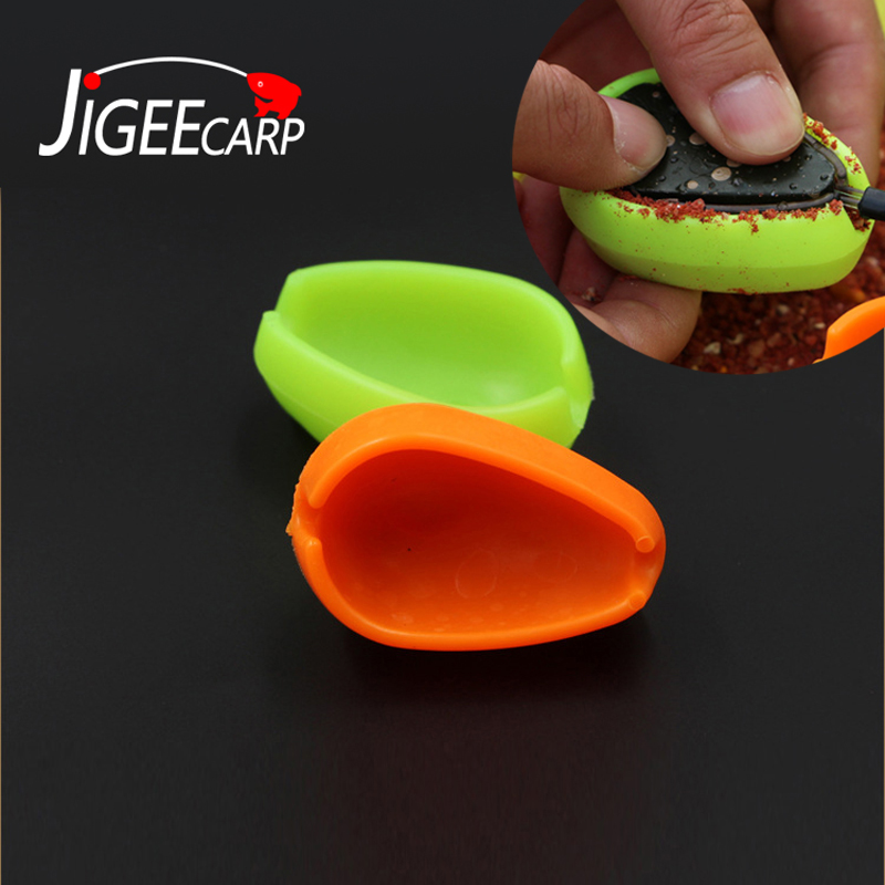 JIGEECARP 1PC Carp Fishing Inline Method Mould Carp Bait Feeding Form Tool Quick Durable Plastic Fishing Feeder Bait Mould Tool