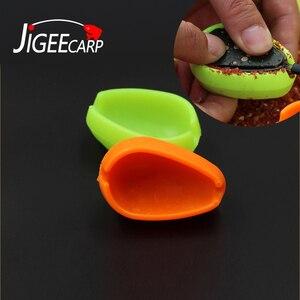 JIGEECARP 1PC Carp Fishing Inline Method Mould Carp Bait Feeding Form Tool Quick Durable Plastic Fishing Feeder Bait Mould Tool