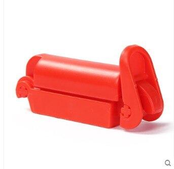 3 шт., автомобильные ремни безопасности для детей, красный замок с пряжкой, фиксированный нескользящий Зажим для ремня, зажим для автомобильного сиденья, безопасное приспособление для малышей, противоскользящий - Цвет: 3 Pieces