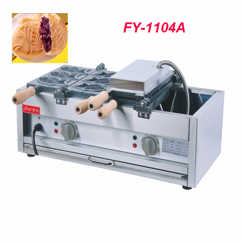 IPC FY-1104A Electric Fish Waffle Maker Taiyaki Waffle Machine Commercial Grain Fish Snapper Burn Grilled Fish Scone eplutus ep 1104 в тамбове