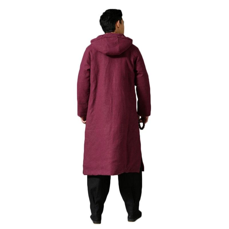 Крутой этнический тренд, модная ветровка, плащ, зимняя куртка, длинное пальто Тренч, мужское пальто, большой размер, 6 цветов - 6