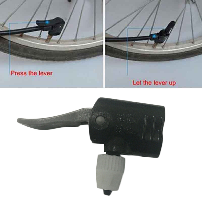 Convertor Dual Head Pumping Parts Service Bicycle Pump Nozzle Hose Adapter