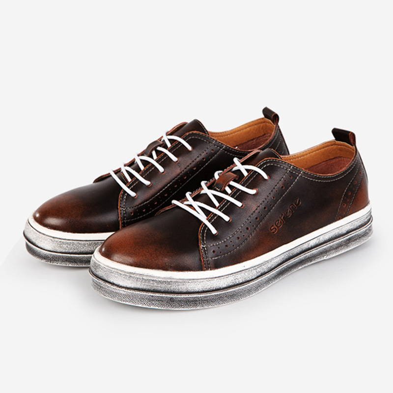 New Handmade Leather Shoes Soft Moccasins Loafers Slip On Shoe Fashion Brand Men Flats Comfy Driving Shoes handmade genuine leather men s flats casual haap sun brand men loafers comfortable soft driving shoes slip on leather moccasins