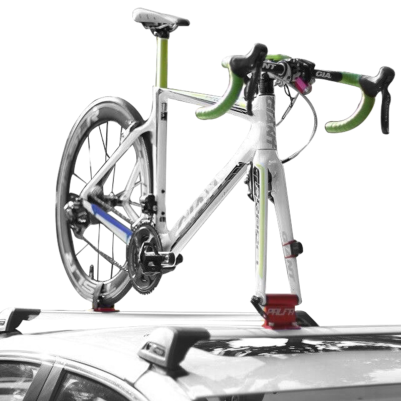 MTB Bicycle Rack Car Roof-Top Suction Road Bike Rack Bicycle Holder Carrier Quick Installation Sucker Roof Rack Bike Accessorie car bike carrier car roof bike carrier roof bicycle rack for 2 bikes