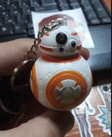 Star wars desperta bb8 darth vader pvc pingente espaço guerra BB-8 figura de ação brinquedos chaveiro presente para crianças