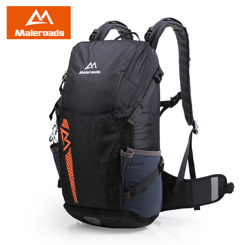 Nouveau Design sac à dos Maleroads pour femmes et hommes sac à dos extérieur en Nylon imperméable sacs de randonnée Camping Sport cyclisme sac à dos 40L