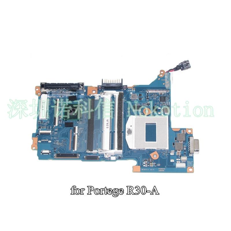 все цены на NOKOTION FASRSY2 A3809A For Toshiba Portege R30 laptop motherboard SR17E HM86 онлайн