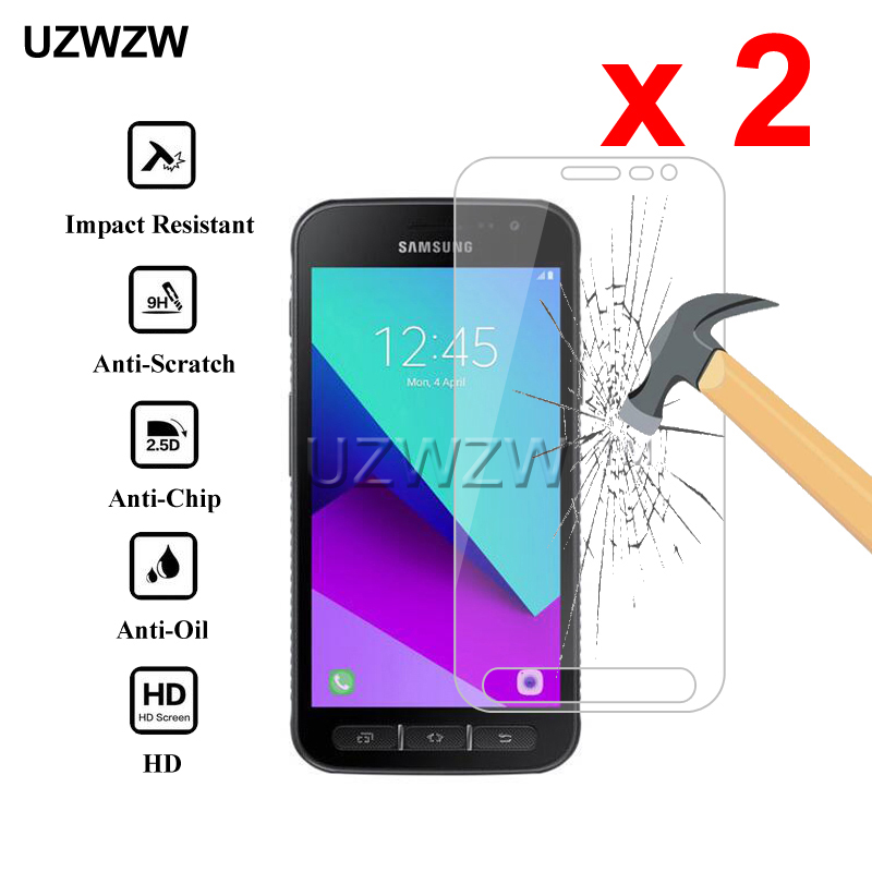 2pcs Tempered Glass For Samsung Galaxy Xcover 4 G390F G390W Xcover 4s G398F Protective Glass Screen Protector