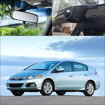 BigBigRoad For Honda Insight Gienia Vezel City Car Wifi DVR Novatek 96658 Dash cam G-sensor night vision
