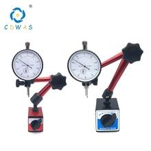Магнитные подставки индикатор циферблата универсальный магнитный держатель стенд настольная точная шкала индикаторы набор инструментов для измерения