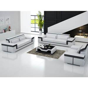 CBMMART Style Living Room Modern Leather Sofa Furniture