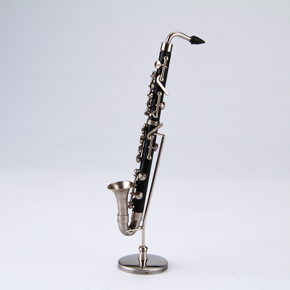 Mini musical instruments Bass clarinet Video Music hobby collections holiday gifts