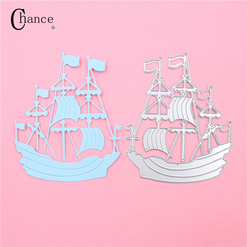 high quality metal craft the ocean sailing paper die cutting dies for scrapbookingdiy valentines