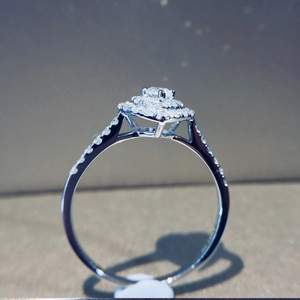 Image 2 - Naturalny diament 18K złoto czysty złoty pierścień piękny kamień pierścień dobry ekskluzywny modny klasyczny Party Fine Jewelry gorący bubel nowy 2020
